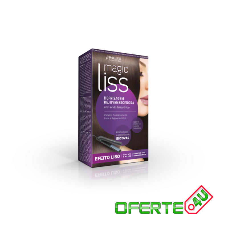 KIT INDREPTARE PAR BRUNET MAGIC LISS Rejuvenating Smoothing System